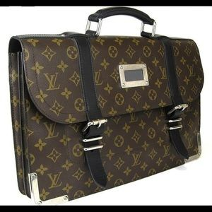 ✨100% Authentic✨ Louis Vuitton Larry Briefcase
